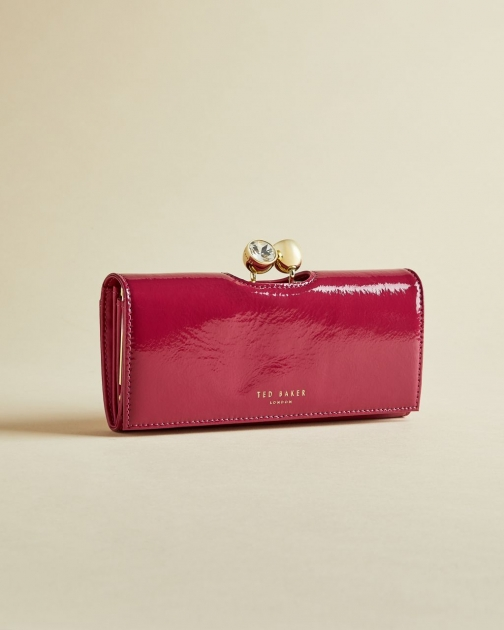 Ted Baker Patent Bobble Matinee Purse