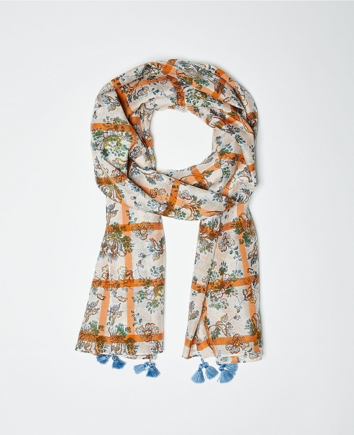 Ann Taylor Paisley Square Scarf