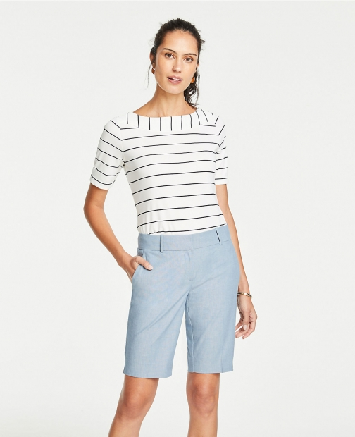Ann Taylor The Boardwalk Chambray Short