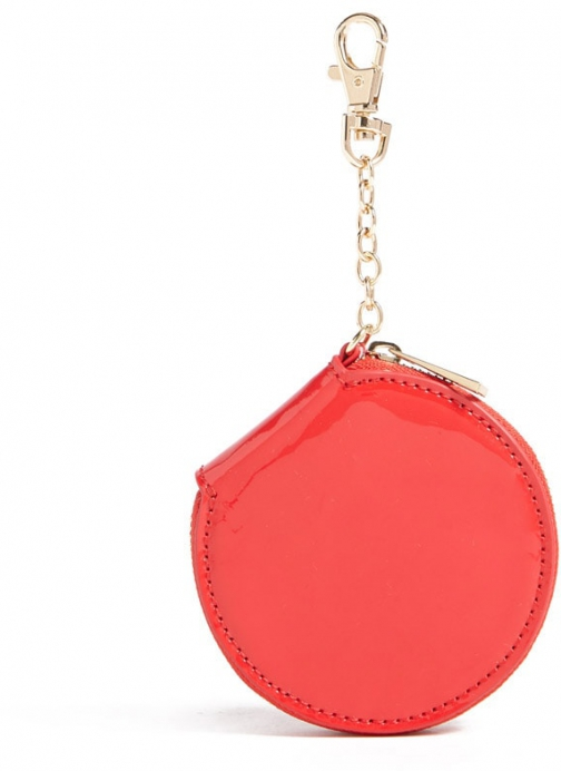 Forever21 Forever 21 Faux Patent Leather Coin Red Purse