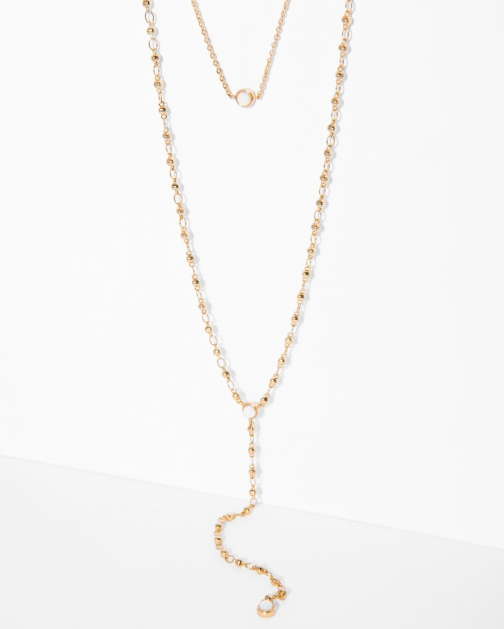 7 For All Mankind Women's The 2 Bandits Starman Gold Necklace