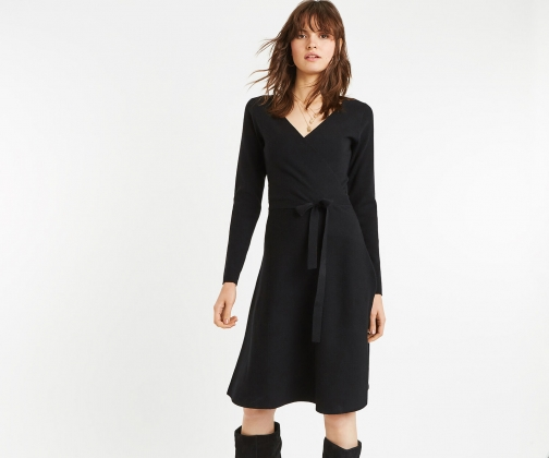 Oasis Millie Tie Side Knit Dress Knitted Dress