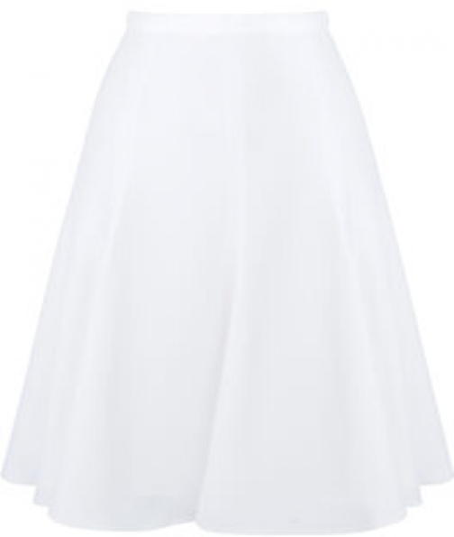 Karen Millen Fluid High-waist Mini Skirt