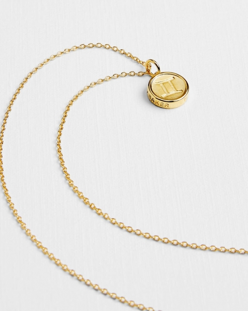Ted Baker Gemini Zodiac Necklace