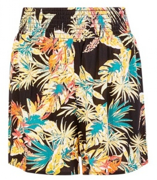 Dorothy Perkins Dp Beach Tropical Print Short