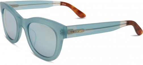 Toms Chelsea Powder Blue Crystal Sunglasses