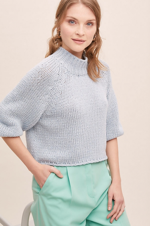 Anthropologie Storm & Marie Halla Recycled-Wool Jumper