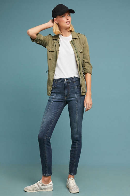 Anthropologie Pilcro High-Rise Denim - Blue, Size Legging