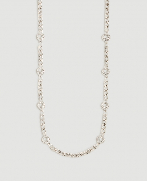 Ann Taylor Circle Link Station Necklace