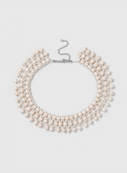 Dorothy Perkins Pink Facet Collar Necklace