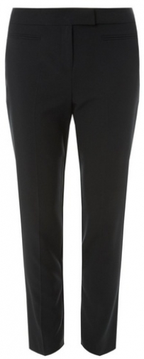 Dorothy Perkins Womens Black Jet Pocket - Black, Black Slim Trouser
