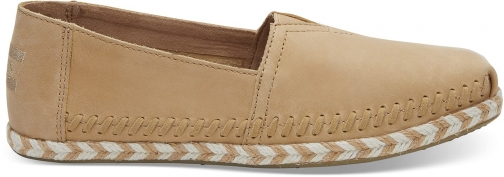 Toms TOMS Honey Leather Women's Espadrilles Shoes - Size UK4.5 / US 6.5 Espadrille