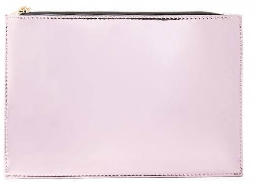 Forever21 Forever 21 Metallic Square , Pink Clutch