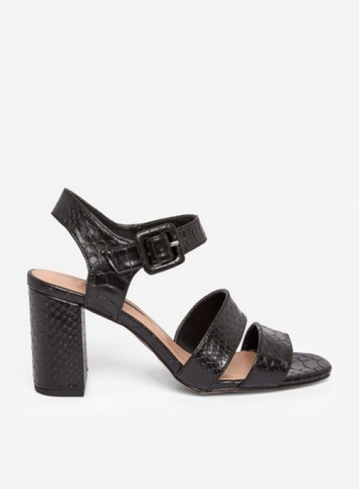 Dorothy Perkins Black 'Betty' Heeled Sandals
