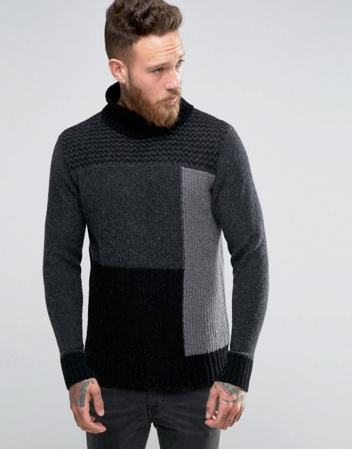 Nudie Jeans Co. Nudie Dag Rollneck Jumper