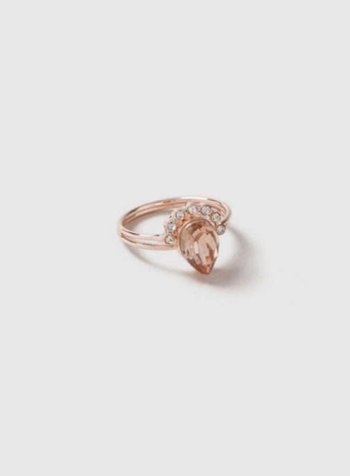 Dorothy Perkins Rose Gold Oval Stack Pack Ring