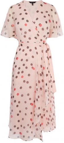 Karen Millen Polkadot Midi Dress