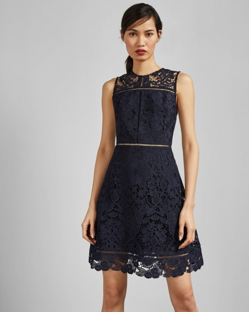 Ted Baker A-line Lace Tunic Tunic Dress