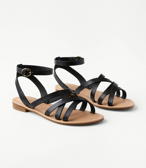 Loft Strappy Ankle Strap Sandals