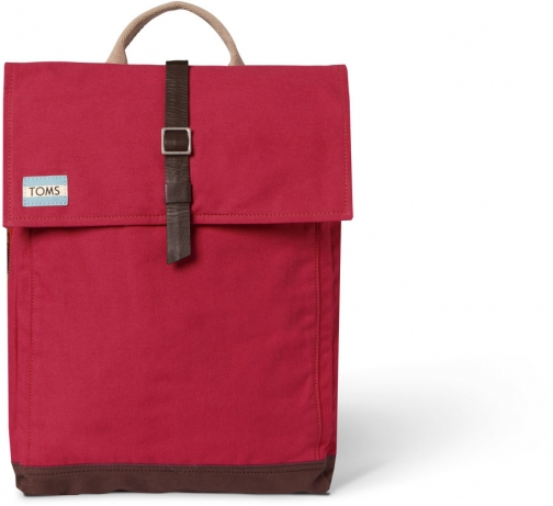 Toms Chili Utility Canvas Trekker Backpack