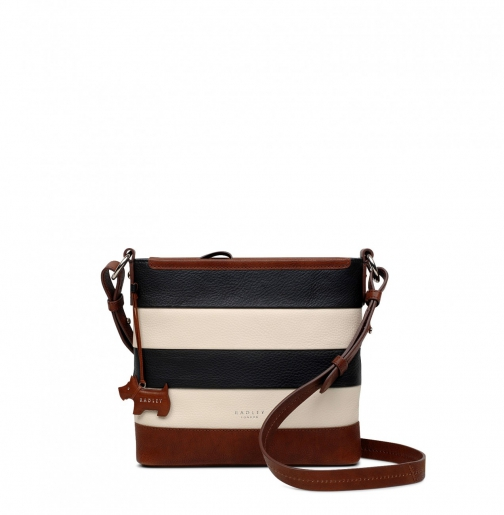 Oasis London Babington Medium Zip-Top Cross Body Bag Crossbody Bag