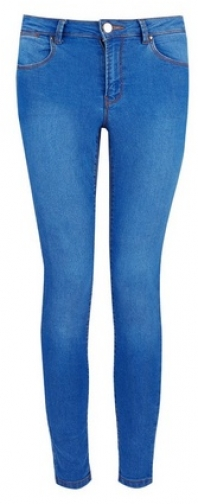 Dorothy Perkins Petite Bright Blue 'Bailey' Jeans