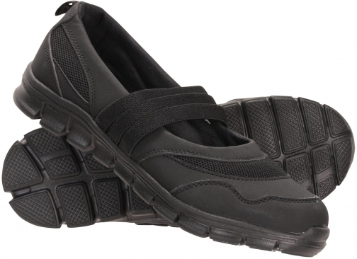 Mountain Warehouse Wander Womens Slip-On - Black Shoes