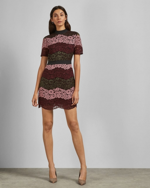 Ted Baker A-line Lace Dress