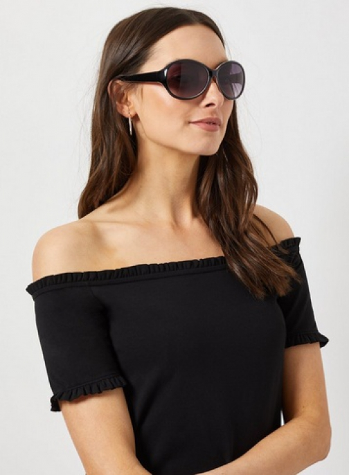 Dorothy Perkins Brown Oversized Sunglasses