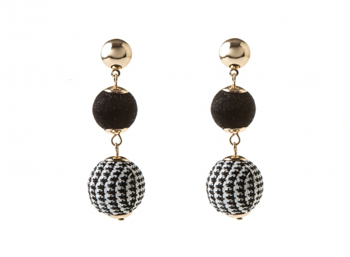 Oasis DOGTOOTH ORB Earring