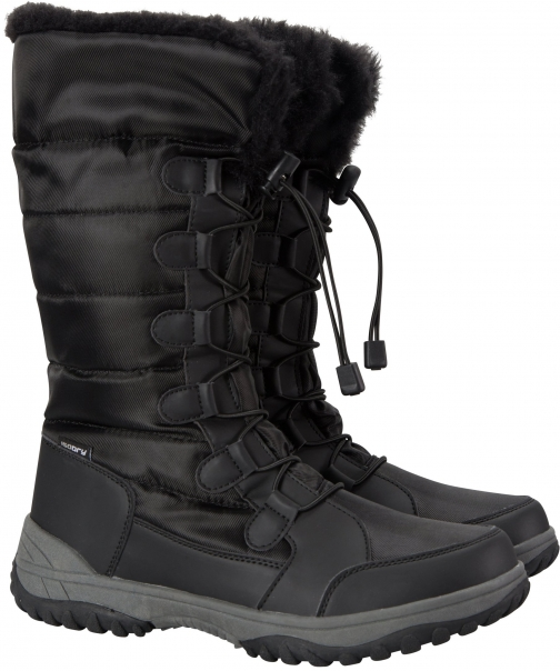 Mountain Warehouse Snowfall Womens Long - Black Snow Boot