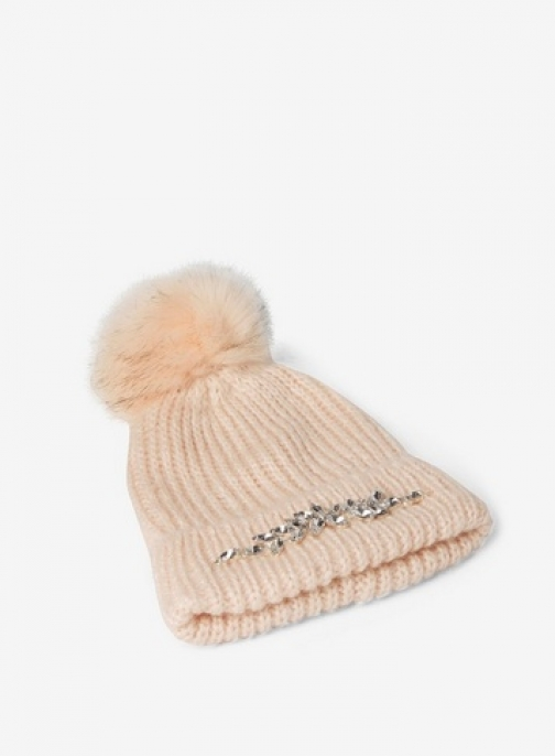 Dorothy Perkins Pink Embellished Trim Hat