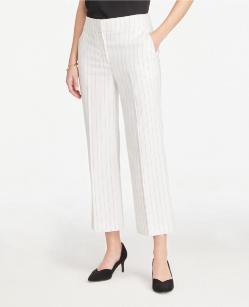 Ann Taylor Striped Wide Leg Pants Trouser