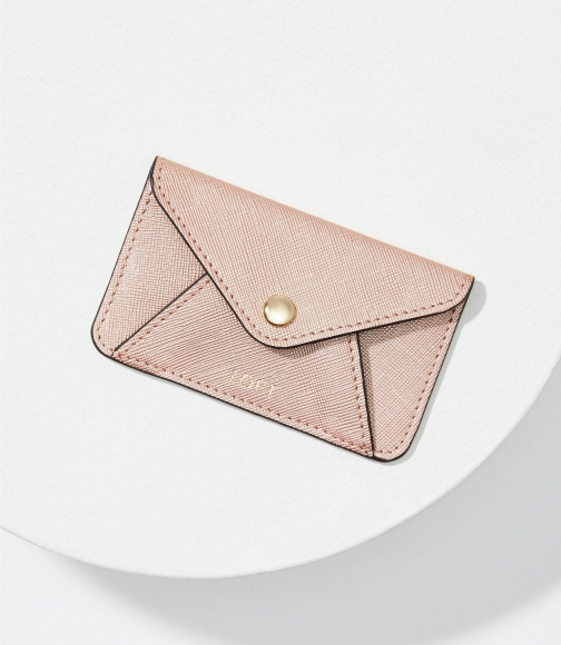 Loft Metallic Tech Card Case