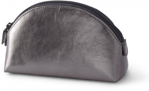 Lands' End Dome Cosmetic - Lands' End - Metallic Pouch