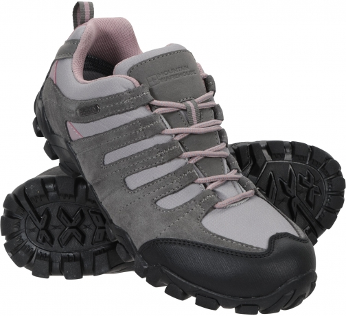 Mountain Warehouse Belfour Womens Outdoor Walking - Grey Shoes
