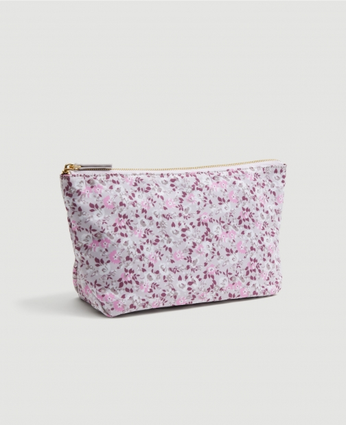 Ann Taylor Factory Floral Cosmetic Case