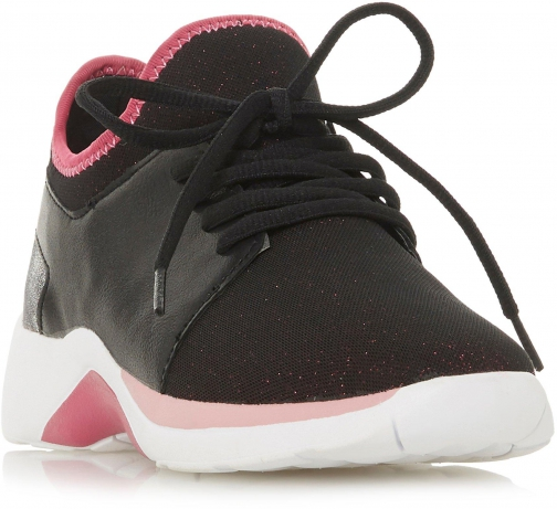 Head Over Heels Enzo Mixed Upper Lace Up Trainer