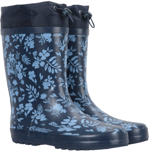 Mountain Warehouse Womens Printed With Rain Guard - Blue Welly