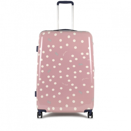 Radley Vintage Dog Dot Large Four Wheel Suitcase