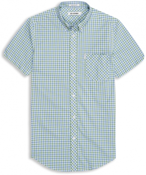 Ben Sherman Men's Ben Sherman Heritage House Check Short Sleeve Shirt