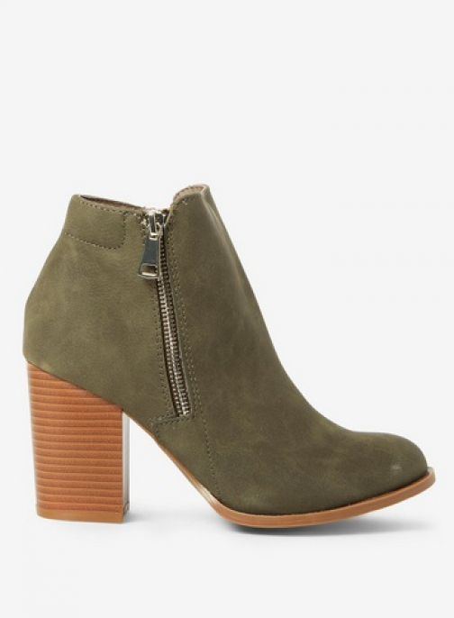 Dorothy Perkins Green 'Antonia' Ankle Boot