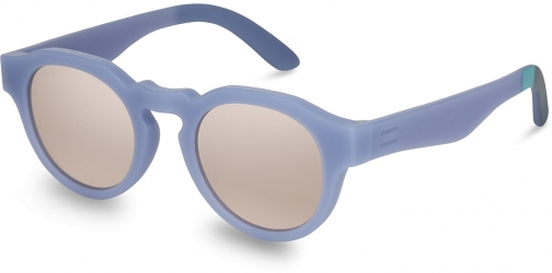 Toms Traveler By TOMS Bryton Matte Infinity Blue Mother Of Pearl Lens With Mother Of Pearl Mirror Lens Sunglasses