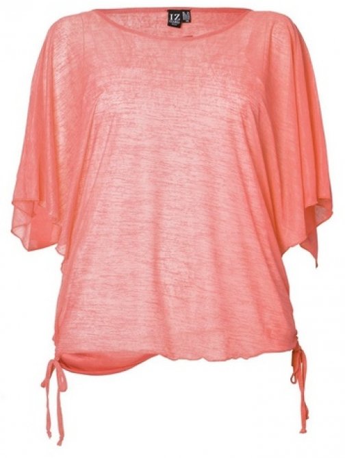 Dorothy Perkins Womens *Izabel London Curve Coral - Coral, Coral T-Shirt