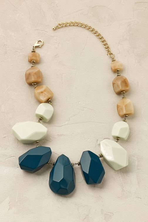 Anthropologie Novara Beaded Necklace