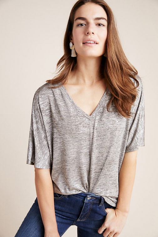 Anthropologie Radiant Top Shirt