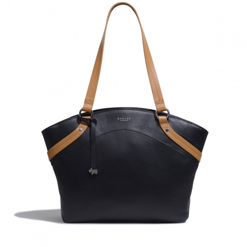 Radley Chester Road - Colourblock Large Domed Bag Tote