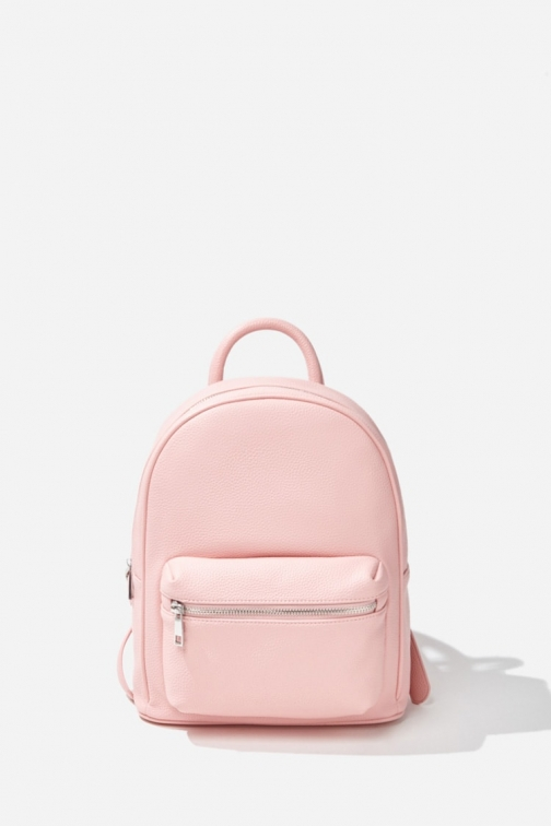 Forever21 Forever 21 Faux Leather , Pink Backpack