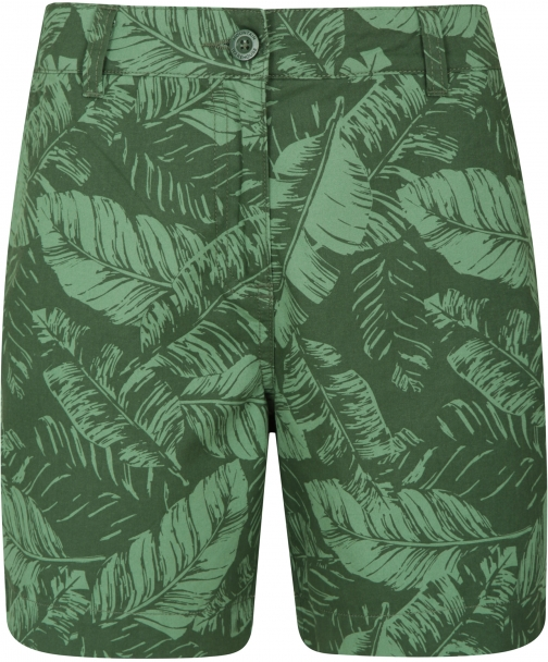 Mountain Warehouse Lakeside II Printed Womens - Green Short