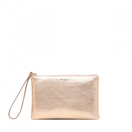 Oasis London Bowhill Small Zip-Top Clutch